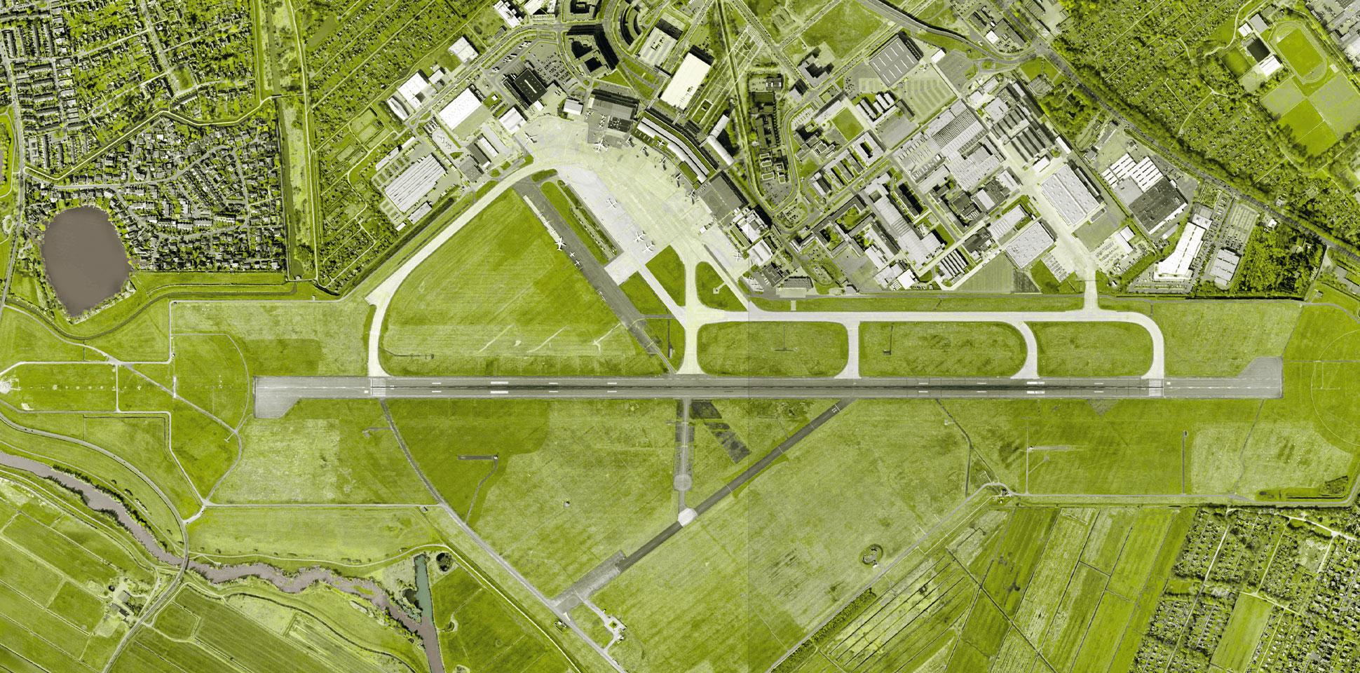airport-bremen umweltbericht luftaufnahme 2012 polarwerk