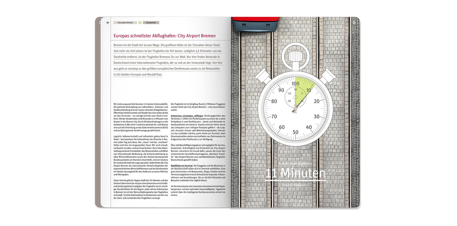 airport-bremen umweltbericht europas-schnellster-flughafen 2012 polarwerk