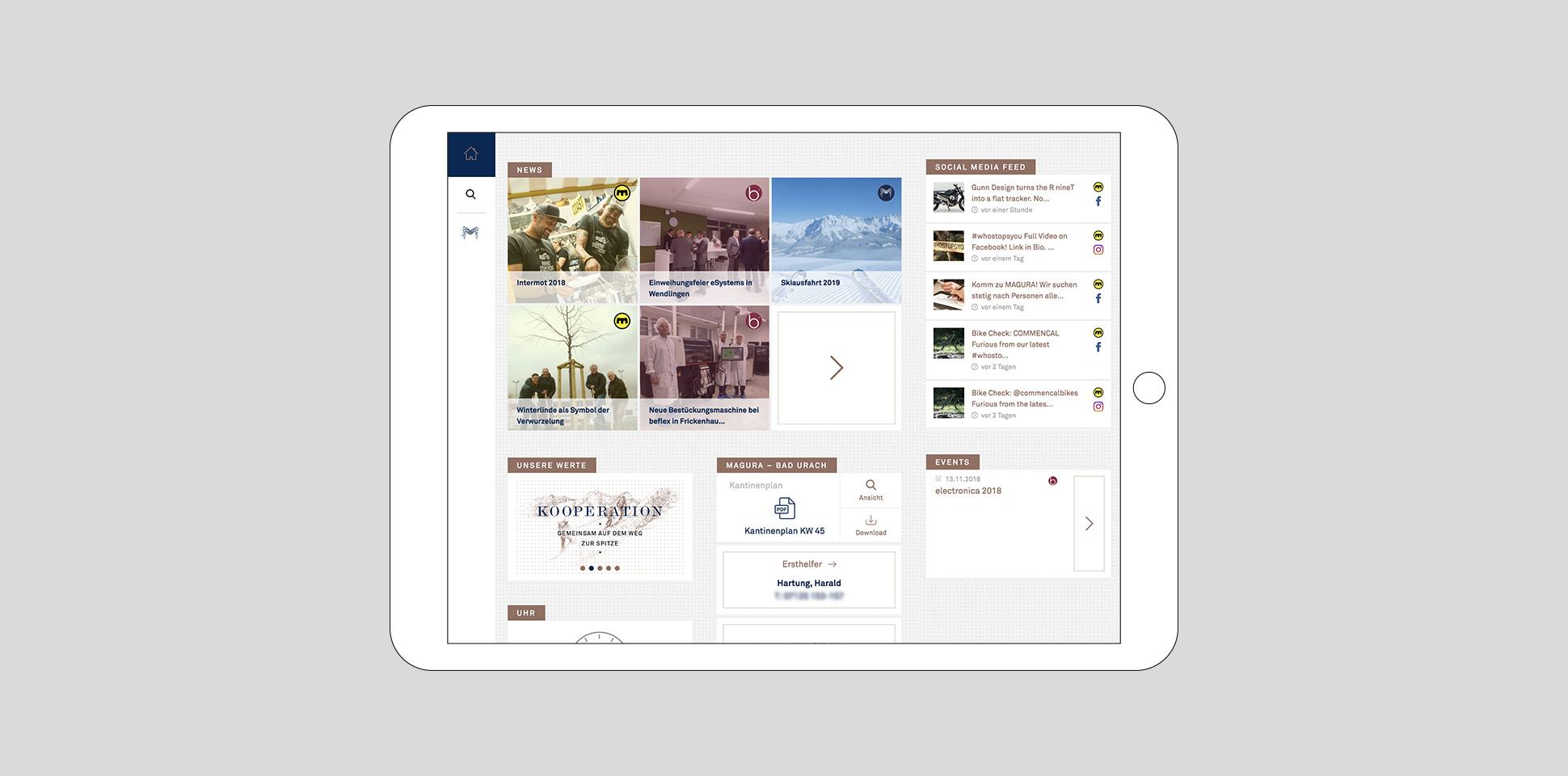 magenwirth-technologies intranet tablet aufmacher polarwerk