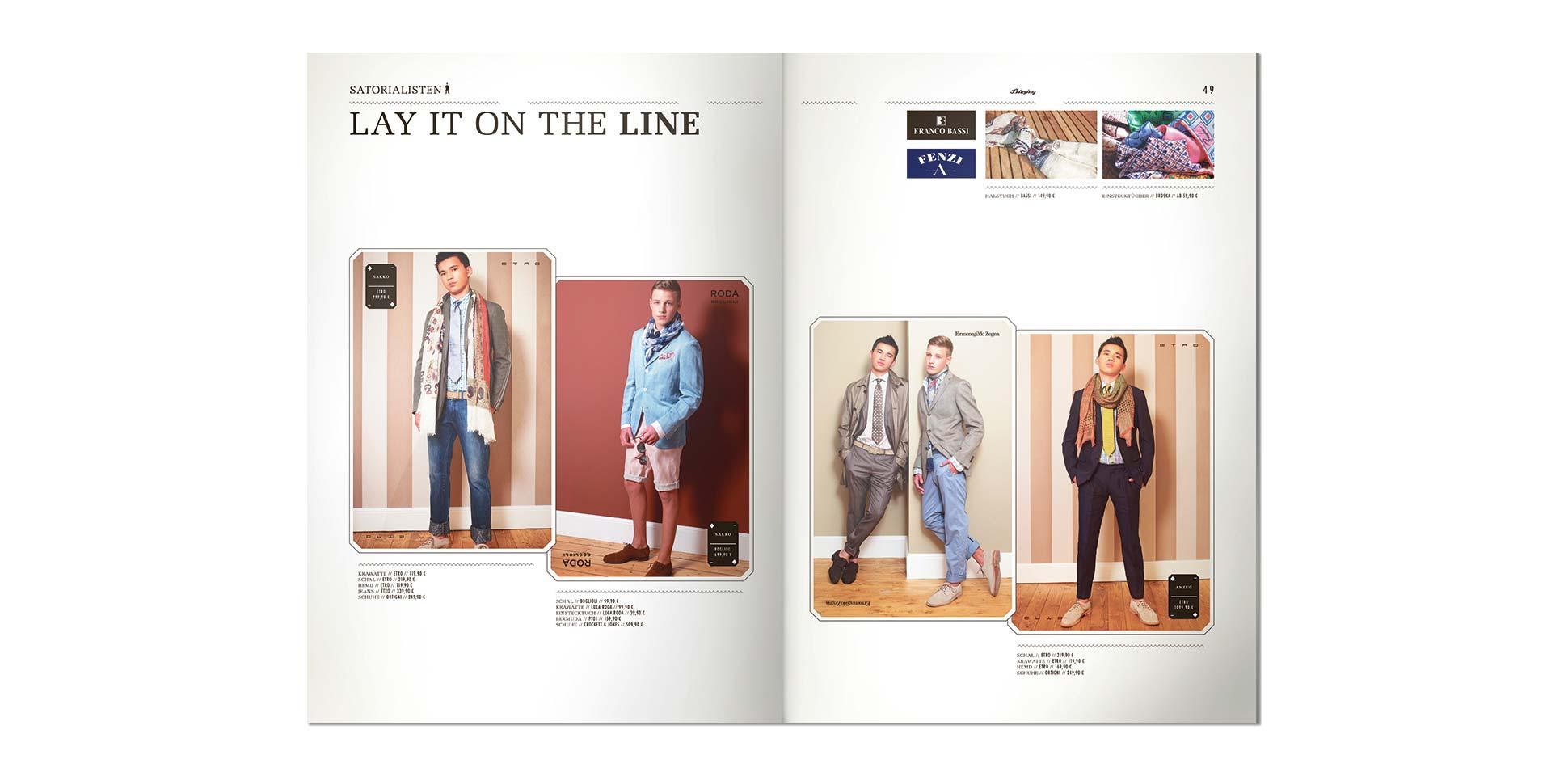 stiesing magazin doppelseite modell junge-maenner polarwerk