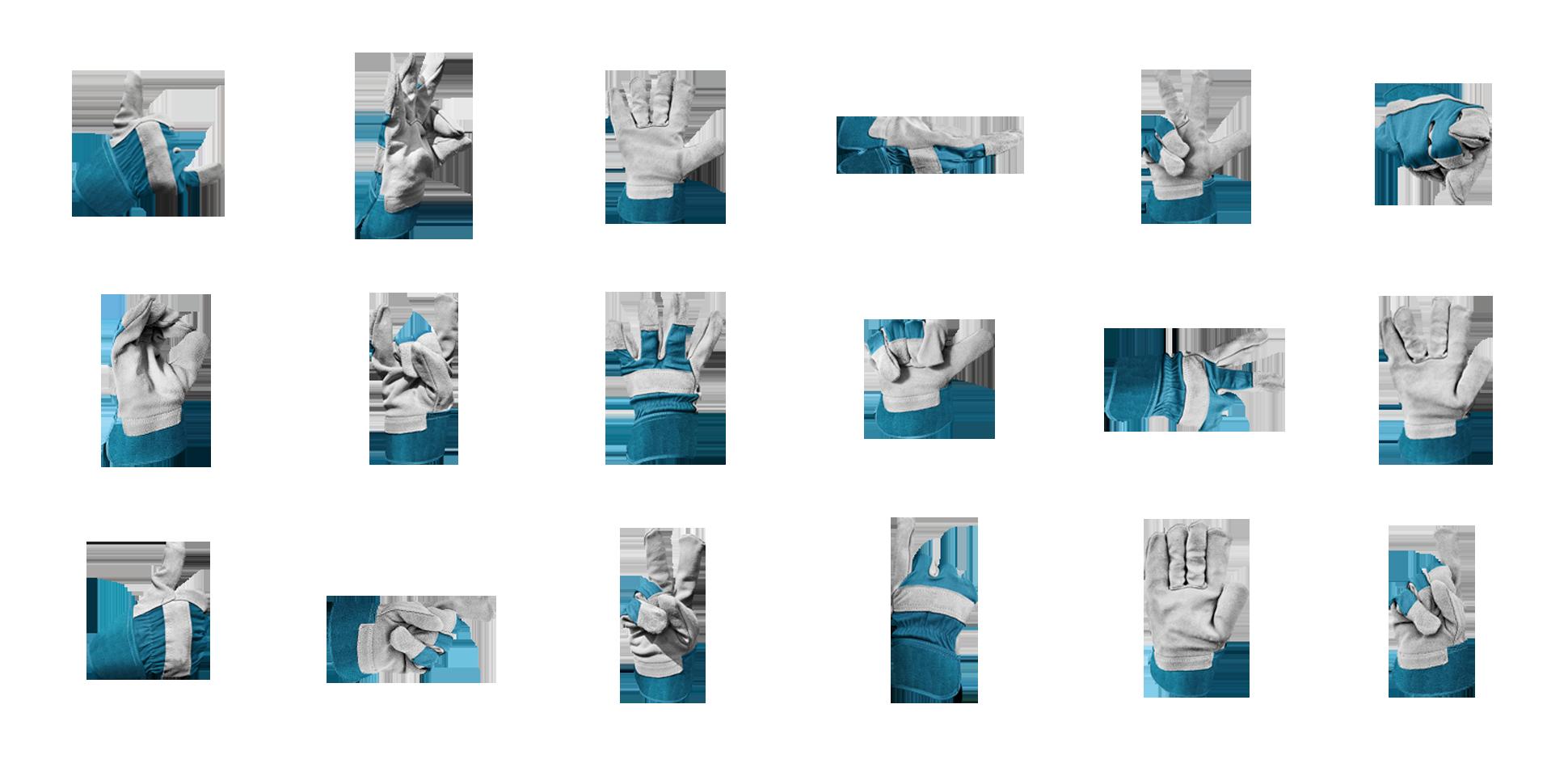 famo corporate-identity handschuhe polarwerk