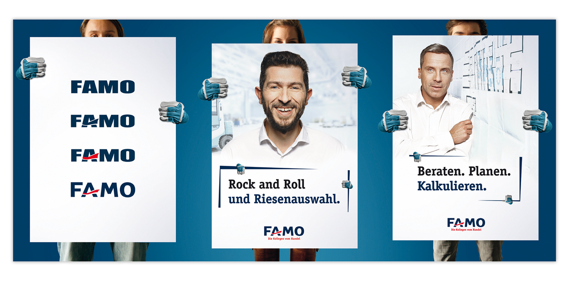 famo corporate-identity poster polarwerk